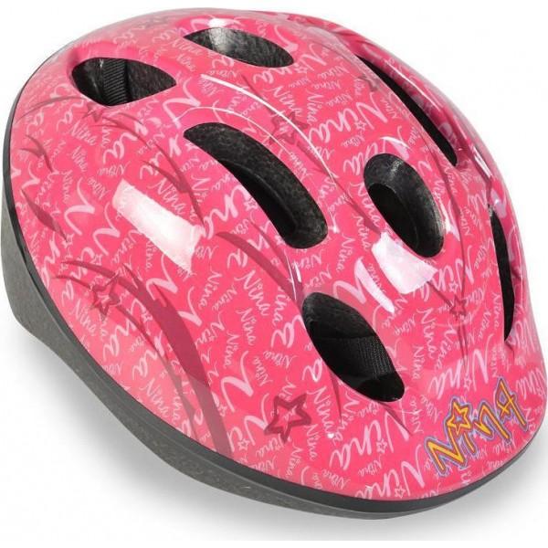 Κράνος Byox Y22 Nina pink (46-53 cm)
