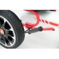 Παιδικό Αυτοκινητάκι Go Kart Abarth 500 Assetto White με πετάλια και τροχούς EVA 3800146242718