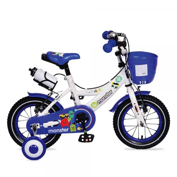 """Παιδικό ποδήλατο Byox Monster 1281 12"""" Μπλε"""
