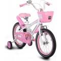 Παιδικό Ποδήλατο Byox 1690 16'' Pink 3800146201579 με φωτιζόμενο πλαίσιο