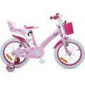 """Παιδικό Ποδήλατο Byox 16"""" Puppy Ροζ 3800146200374"""