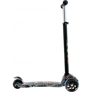 Byox Scooter Rapture Black Turquoise 3800146225704