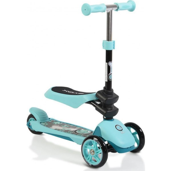 Byox scooter Epic 2 in 1 Light Blue 3800146225568